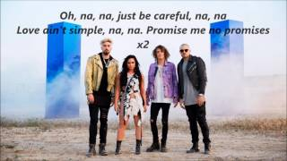 Demi Lovato and Cheat Codes - No Promises lyrics