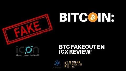 Bitcoin: Fakeout, en ICOn review i.c.m. Bitcoinmagazine.nl