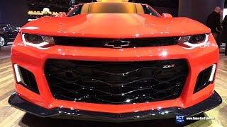 2017 Chevrolet Camaro ZL1 - Exterior and Interior Walkaround - 2017 Detroit Auto Show