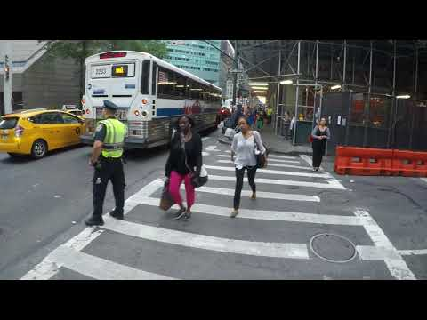 September 20, 2017 NYC Cycling - Lexington Avenue major traffic jam during Donald Trump UN visit
