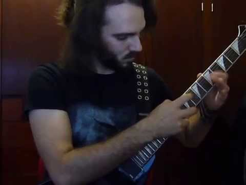 Short tapping riff
