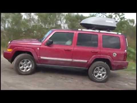 jeep commander offroad youtube. Black Bedroom Furniture Sets. Home Design Ideas