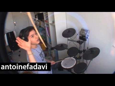 Antoine - RISE AGAINST - Prayer Of The Refugee (Drum Cover)