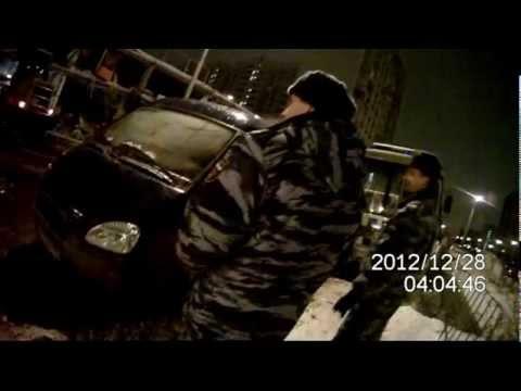 Ночной снос и пожар автосервиса Вистицкого