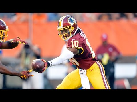 Robert Griffin III 2015 NFL Preseason Week 1 highlights