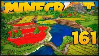 ESSA É A MAIOR FAZENDA DO MUNDO! // Meu Mundo #161 // Minecraft