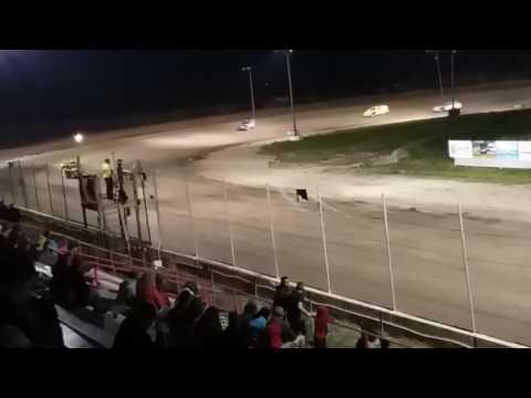 A.j Ward Racing 4/28/17@ I-96 speedway)Heat race