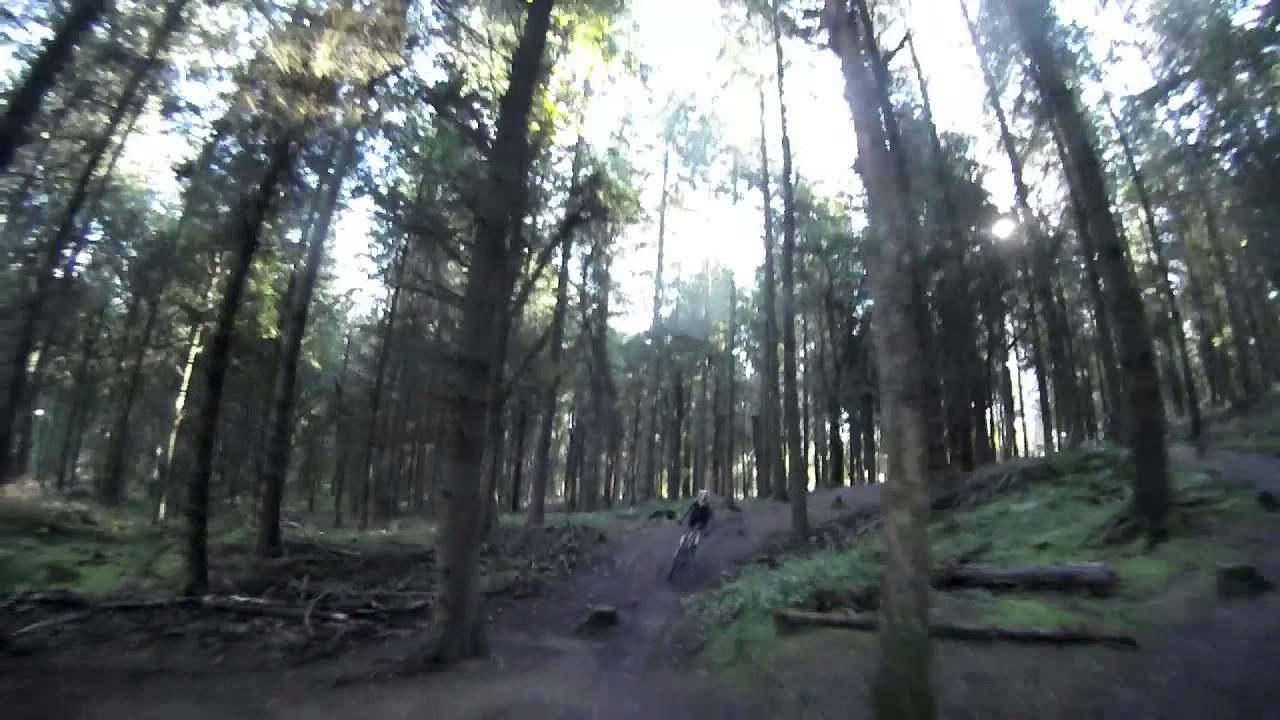 Corkscrew Forest Of Dean - Downhill Mtb - Good Bad Ugly - Youtube