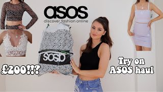 HUGE £200 ASOS *TRY ON* HAUL | SPRING/SUMMER COLLECTION