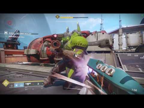 "Destiny 2: Solo Flawless ""Legend of Acrius"" Raid Strike ""The Arms Dealer""- Warlock"