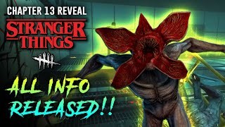 Demogorgon Gameplay! 9 New Perks Revealed and New Map Preview! - Dead by Daylight Stranger Things