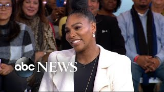 Serena Williams talks women-focused Super Bowl ad