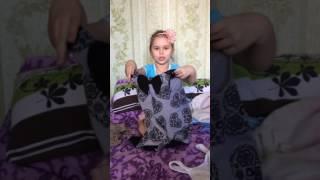 Наряды Яны часть 1. Платья . Детский обзор