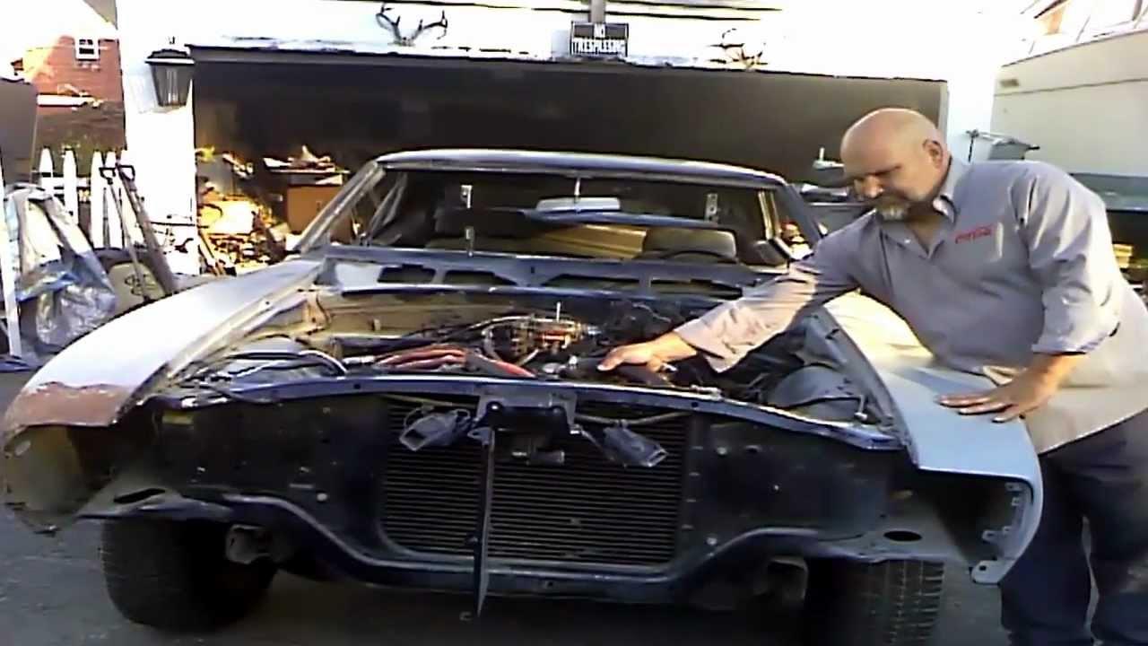 1969 camaro rs original hide away headlights [ 1280 x 720 Pixel ]