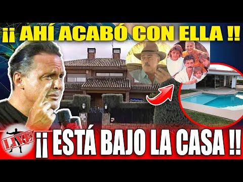 Descubren Casa Donde Mamá D Luis Miguel Esta Sepultada!!Andrés García Vio Q La Pusieron Bajo Alberca