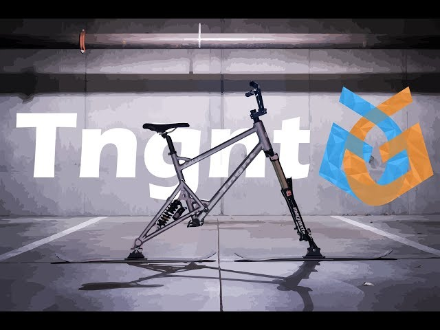 Tngnt Carve Ski Bike: Bike All Year