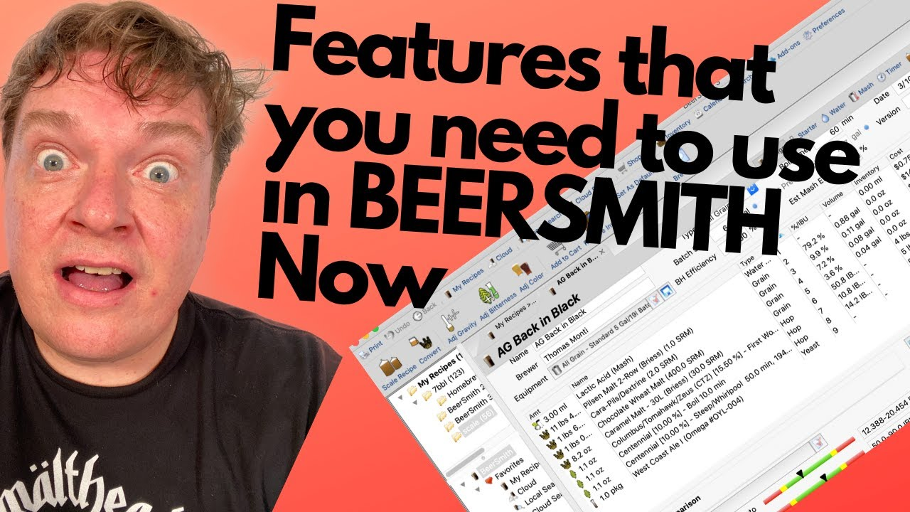 Top Beersmith Features You Should Be Using