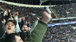 Besiktas fans amazing show vs Bayern Munich Championsleague 17/18