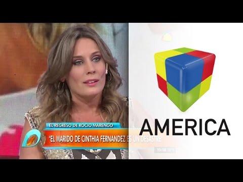 Rocío Marengo: Recibí mensajes del marido de Cinthia Fernández