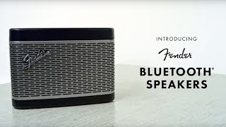 Introducing Fender Bluetooth Speakers | Fender