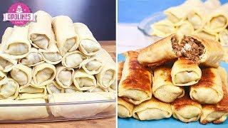 ხორციანი ბლინები - Xorciani Blinebi