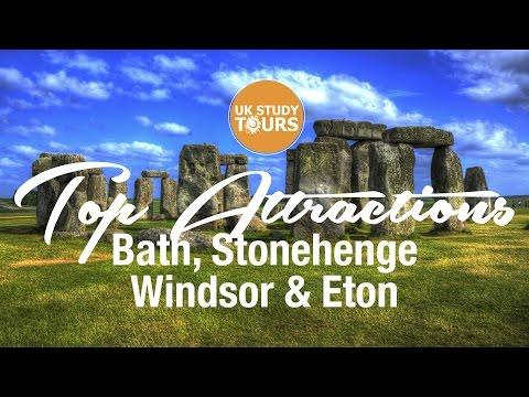 Top Attractions Bath, Stonehenge, Windsor & Eton