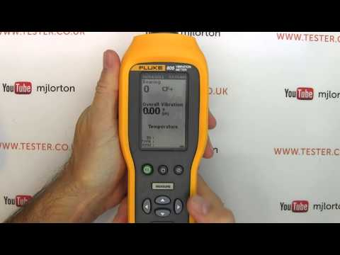 Review: Fluke 805 Vibration Meter