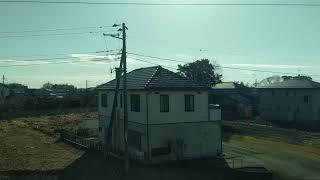 常磐線東海~大甕E531系K466編成 普通列車いわき行 2018年1月31日