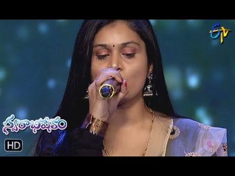 Apple Beauty Song | Prudhvi,Mohana Performance | Swarabhishekam | 9th December 2018 | ETV Telugu
