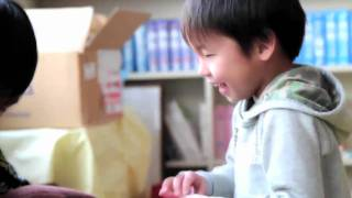 Child Friendly Spaces Bring Smiles to the Faces of Children in Japan