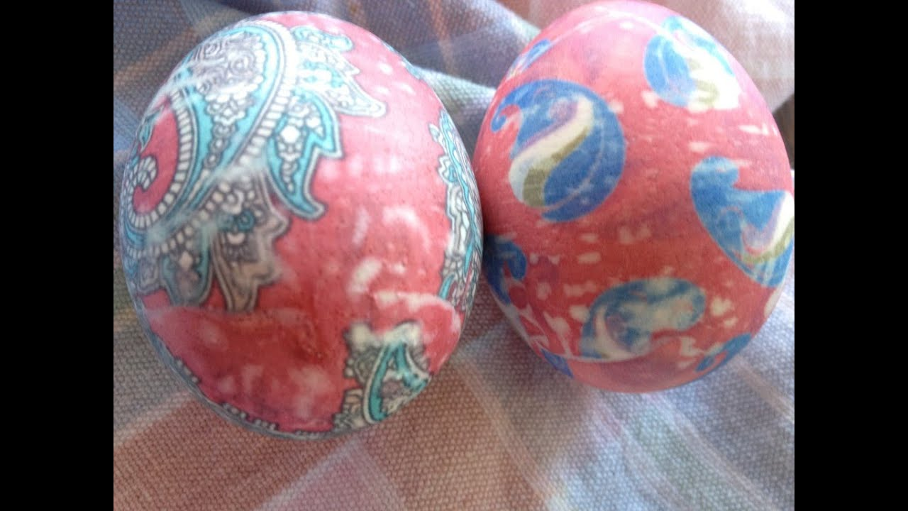 The Absolute Coolest Way To Dye Easter Eggs Using Neck