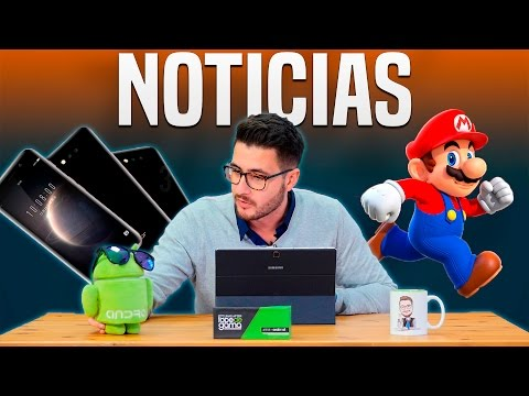 Noticias: Honor Magic, sólo Galaxy S8 edge y Super Mario Run