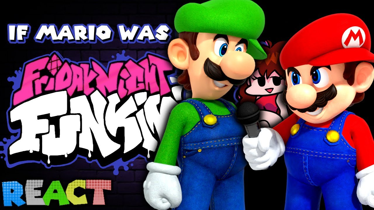 Download SMG4: If Mario Was In.... Friday Night Funkin | LUIGIKID REACTS