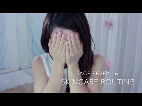 Face Reveal // How I Take Care of My Skin ASMR