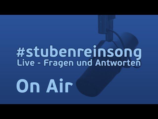 Stubenrein Song - Live - Fragen und Antworten