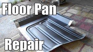Passenger Side Floor Pan Repair - 017