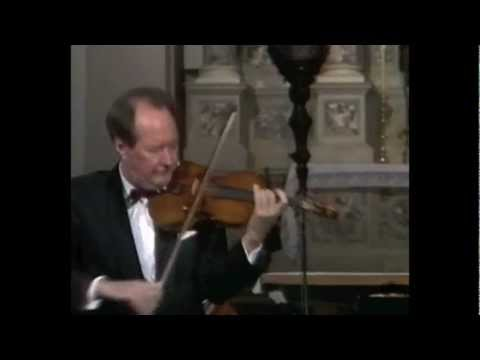 Giuseppe Tartini - Concerto for violin in G-minor, 3 mov. solo violin - Igor Ozim