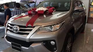 Bán xe Toyota Fortuner 2019 G máy dầu số sàn màu bạc giao ngay tháng 1.2019