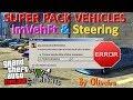 CORRIGINDO ERRO GTA V SUPER PACK VEHICLES V2 COM ImVehFt & Steering