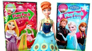Blind Bags Disney Frozen and Disney Princess with Frozen Fever Anna