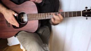Owner of a Lonely Heart - Fingerstyle Guitar - Sigma 000M-15