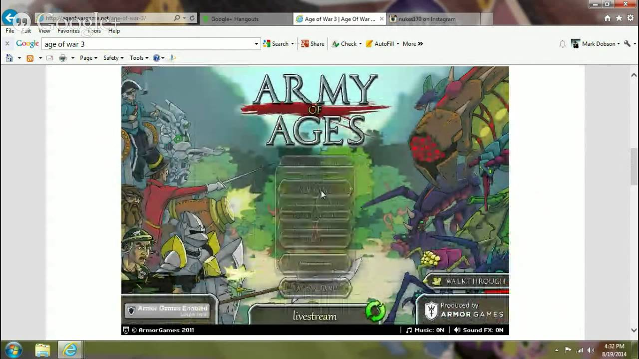 Age Of War (hacked)gamerate