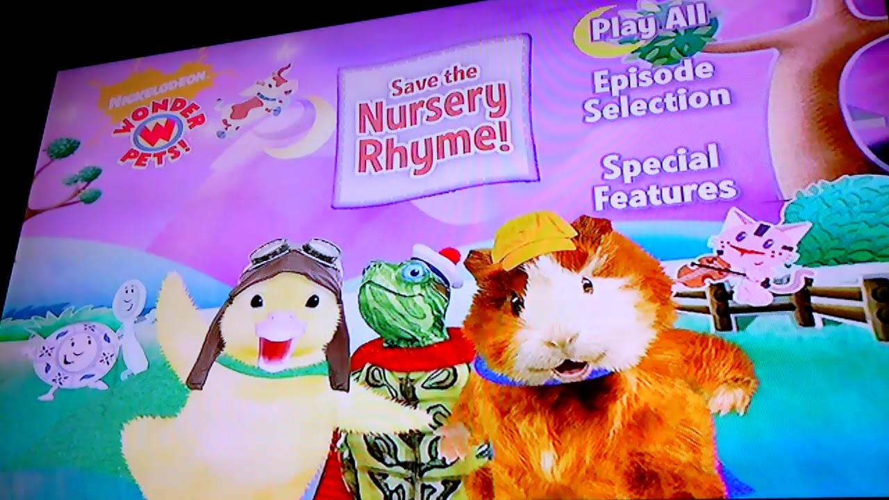 Wonder Pets Save The Nursery Rhyme