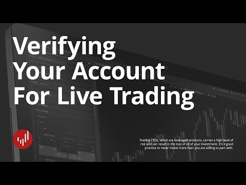 How to verify your account for Live Trading | Kawase cTrader