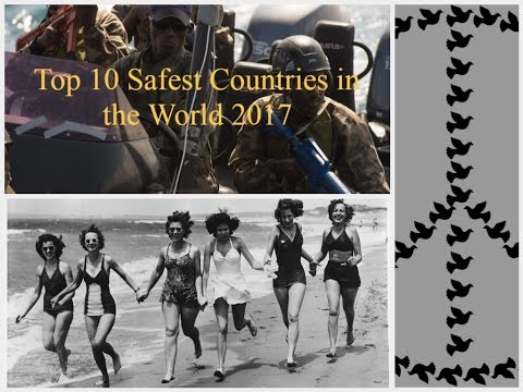 Top 10 Safest Countries in the World 2017 | Safest Place to Live in the World - 2017
