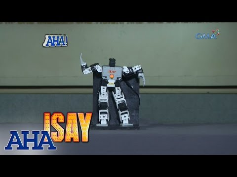AHA!: Isay, the dancing humanoid robot