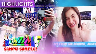 Anne Curtis greets the madlang people, live from Australia! ...