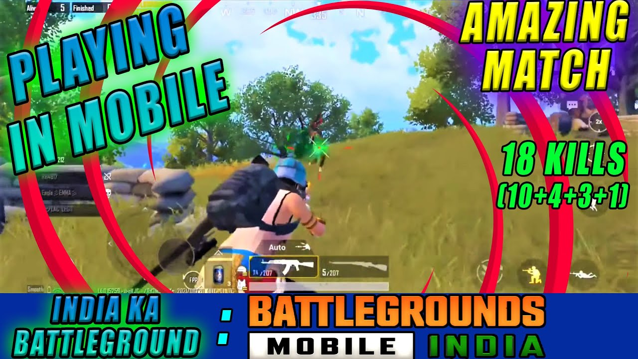 BGMI | RON Is Playing In Mobile For The First Time And Gets Chicken Dinner