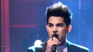 Adam Lambert - Better Than I Know Myself on Leno Live