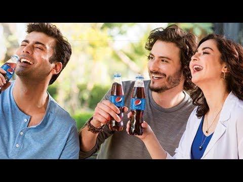 Pepsi Latest Ad 2019 ft Hania Amir, Fawad Khan And Osman Khalid Butt | Creative Ads